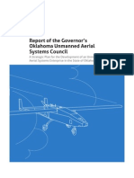 Oklahoma Unmanned Aerial Systems Council Report 2012