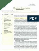 Boletín Farmacovigilancia Extremadura abril 2012 DABIGATRAN