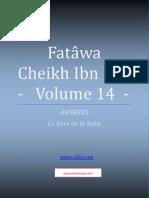 Compilation Des Fatwas de Cheikh Ibn Baz - Volume 14 - (La Zakat)