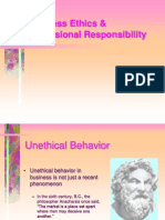 Business Ethics & Professional Responsibility