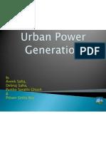 Urban Power Generation Presentation