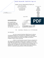 7:9:2012 Letter Zornow to Sand