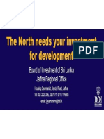 Investment Opportunities in Jaffna