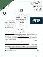 Tribunale Roma sanziona una banca per i titoli Argentina