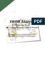 SWOR Analysis Or