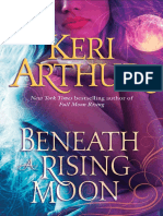 BENEATH A RISING MOON by Keri Arthur, Excerpt