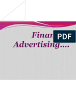 Financial Advertising.........Final Ppt