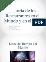 Historia de Los Restaurantes en El Mundo y