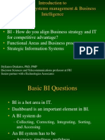 Introduction IT Infrastructure BI Class Notes