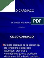 3ra. Clase Teoría - Ciclo Cardiaco