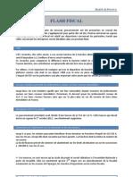 Actualite Fiscale, Projet de loi de finances rectificative été 2012, Marne Et Finance