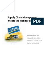 Perdue Farms Case Solution