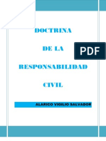 Doctrina de La Responsabilidad Civil
