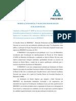 Edital Exame Nacional PROFMAT 2013