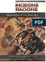 D&D 4th Edition - Dark Sun - Marauders of the Dune Sea