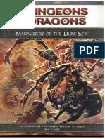 D&D 4th Edition - Dark Sun - Marauders of the Dune Sea