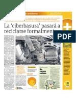 La ciberbasura pasará a reciclarse formalmente