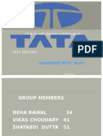 Tata Final Business Policies