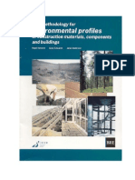 LCA _Environmental Profiles Methodology