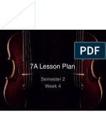 7a student lesson plan