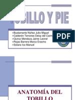 Tobillo y Pie Imagenologia