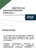 FUNDAMENTOS DA ADMINISTRAÇÃO PÚBLICA