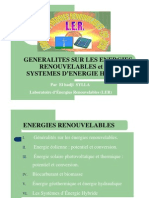 Energies Renovelables LICENCE PRO