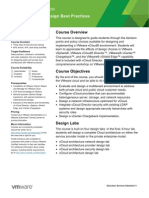 EDU DATASHEET vCloudDesignBestPractices V1534
