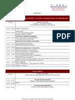 Programa del Segundo Congreso Archivístico de las Américas