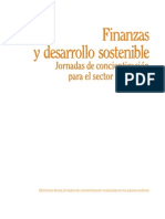 Finanzas y Desarrollo Sostenible