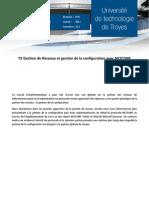 TX Netconf Gestion de Configuration DEMIANVILLE