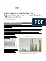 News Without Transparency - DEA FOIA rejections have increased 114 percent since end of Bush administration