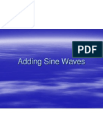Adding Sine Waves