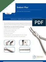 Endura® Plus™ Orthodontic Instruments