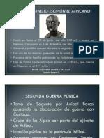 Unidad 10 Publio Cornelio Escipión El Africano Daniel Alejandro Agudelo Grajales