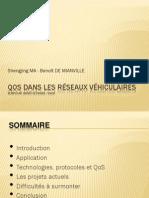 Qos VANETS - Réseaux AdHoc Vehiculaires