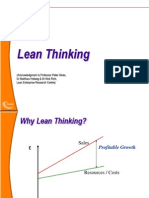 5. the Role of Lean Thinking