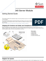 T6340 Server Module Started Guide