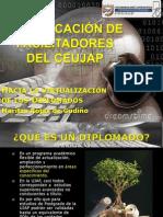 Junio 2012 CONCEUJAP-CERTIFICACIÓN DE FACILITADORES EN CEUJAP
