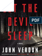 Let the Devil Sleep by John Verdon - Excerpt