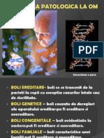 Ereditatea Patologica La Om