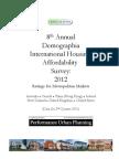 Demographia International Housing  Affordability  Survey
