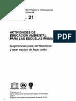 Actividades de Educación Ambiental para las Escuelas Primarias - El Bolsón Recicla