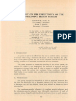 PLJ Volume 52 Number 1 -03- Abelardo B. Albis, Jr., Eleandro F. Madrona, Alice P. Marino, Leonides S. Respicio - A Study on the Effectivity of the Philippine Prison System