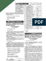 Aplicacion del HACCP R.M.449-2006 MINSA Norma del Perú