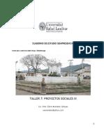 Cuaderno de Trabajo Taller 7 Proyectos Sociales III 2012