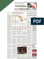 Municipios Con Mas Violencia
