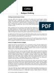 CIMA Case Study -- Kadgee Intellect 2012