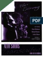 A Tribute to Sonny Stitt - Brian Lillos