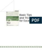 Tips and Tricks for Excel